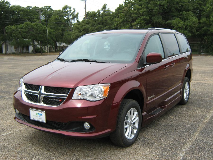 Red Dodge Grand Caravan image number 2