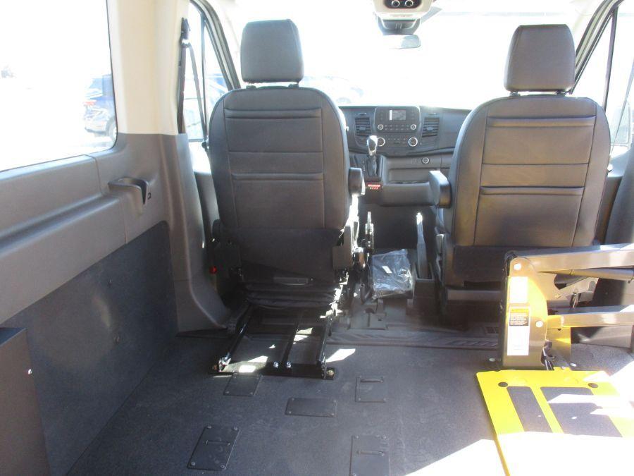 White Ford Transit Passenger image number 5