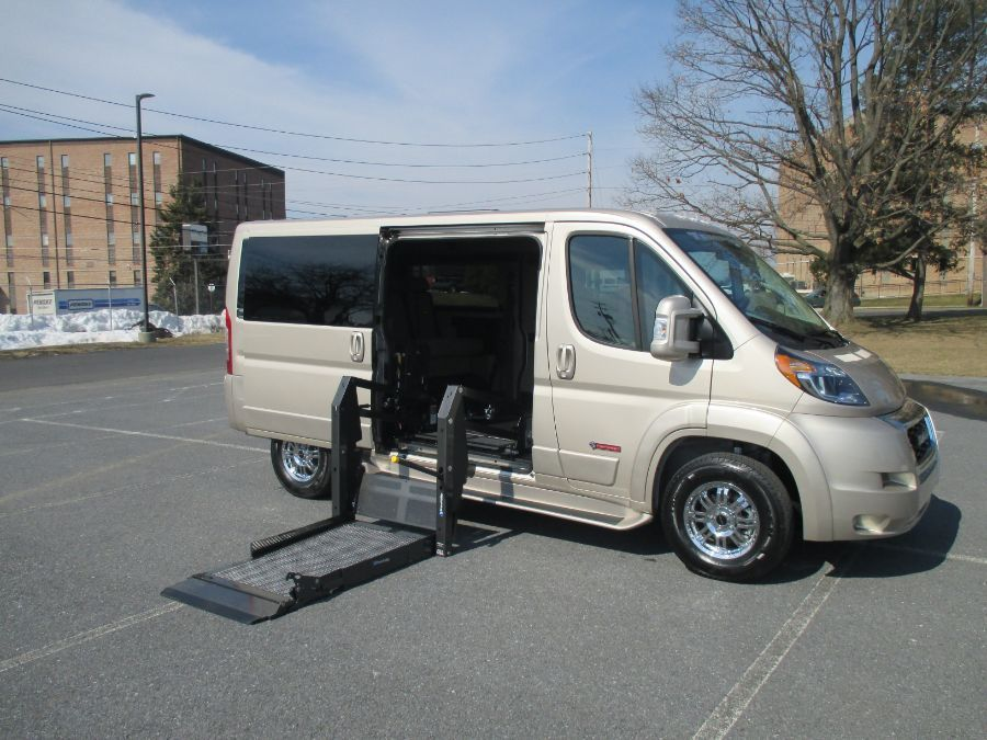 Brown Ram ProMaster Cargo with Side Entry N/A N/A ramp