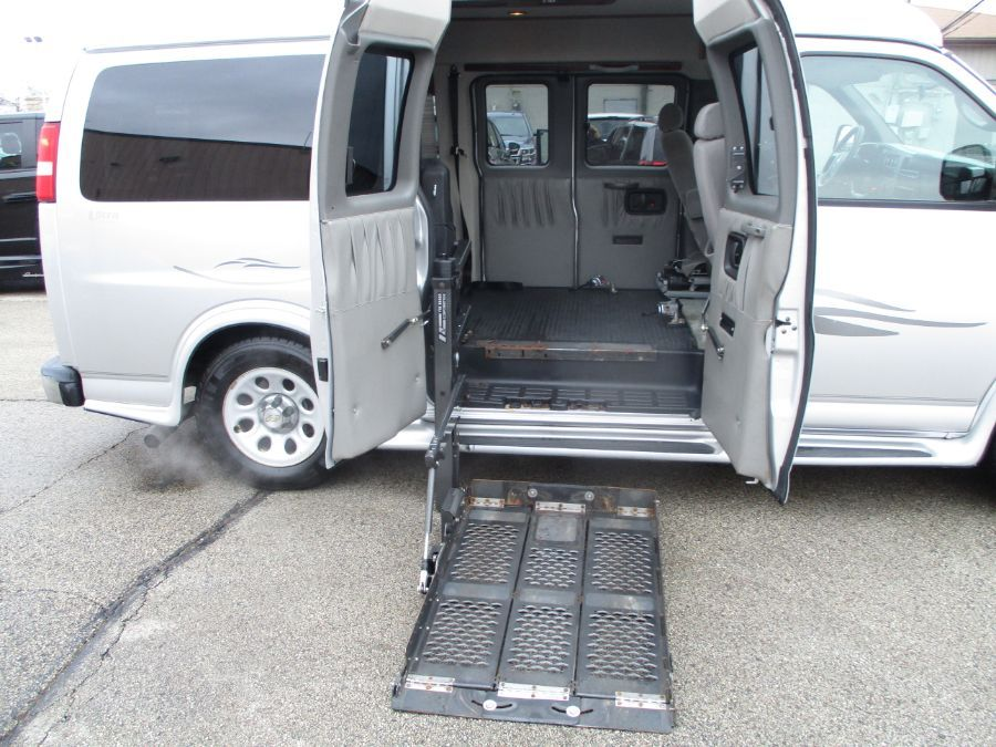 Silver Chevrolet Express Cargo image number 2