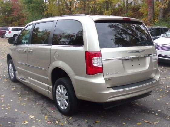 Gold Chrysler Town and Country image number 5
