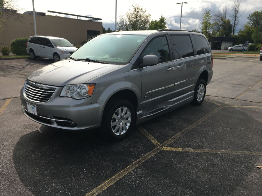 Silver Chrysler Town and Country image number 2