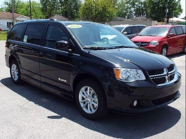 Black Dodge Grand Caravan image number 27