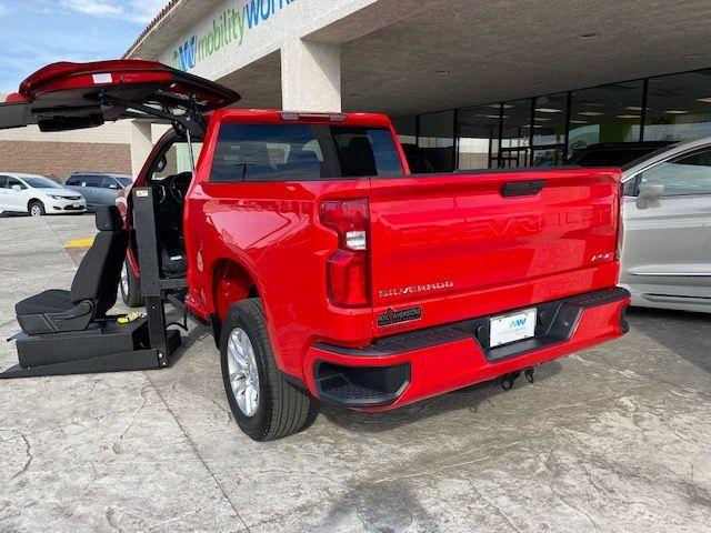 Red Chevrolet Silverado 1500 image number 5