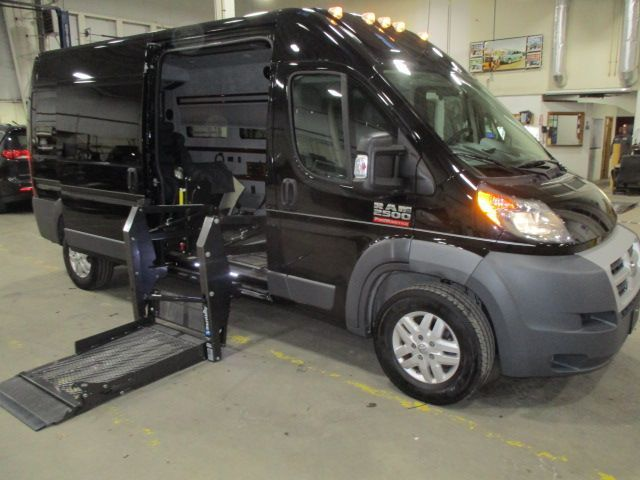 Black Ram ProMaster Cargo with N/A N/A N/A ramp
