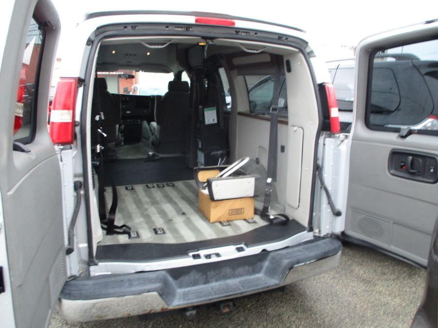 Silver Chevrolet Express Cargo image number 26