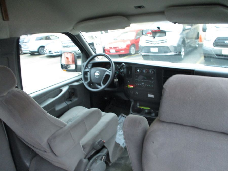 Silver Chevrolet Express Cargo image number 7