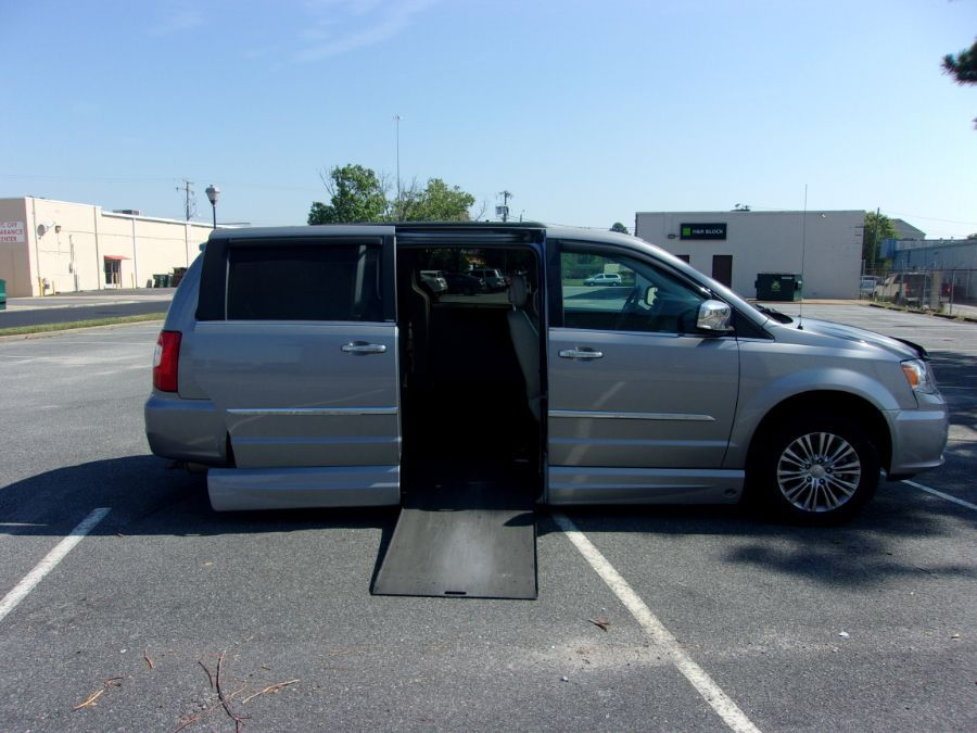 Silver Chrysler Town and Country image number 4
