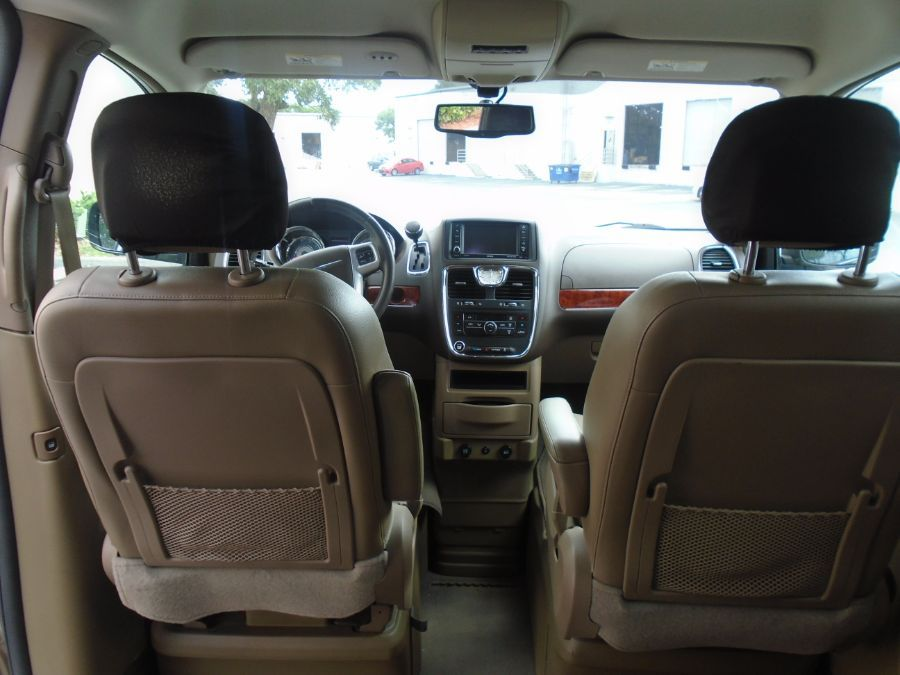Gold Chrysler Town and Country image number 12