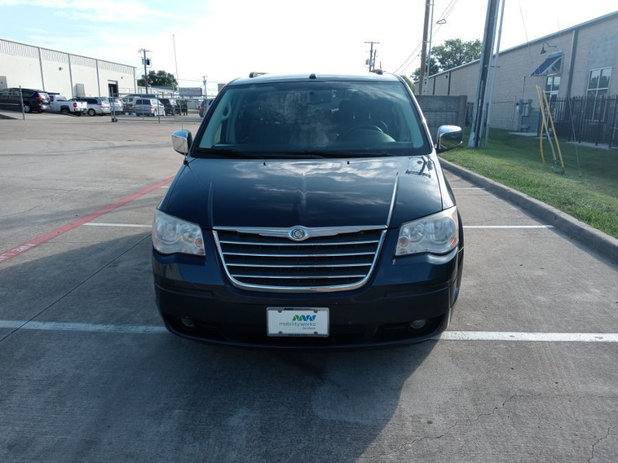 Blue Chrysler Town and Country image number 20