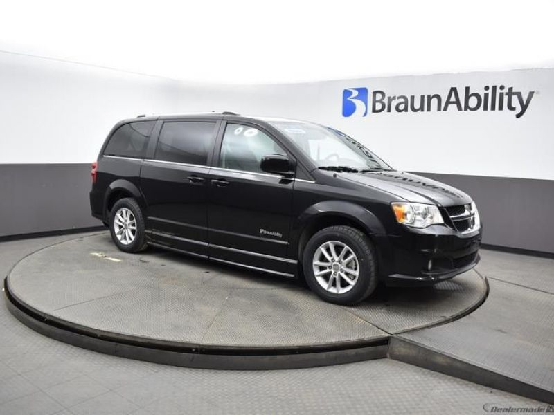 Black Dodge Grand Caravan image number 12