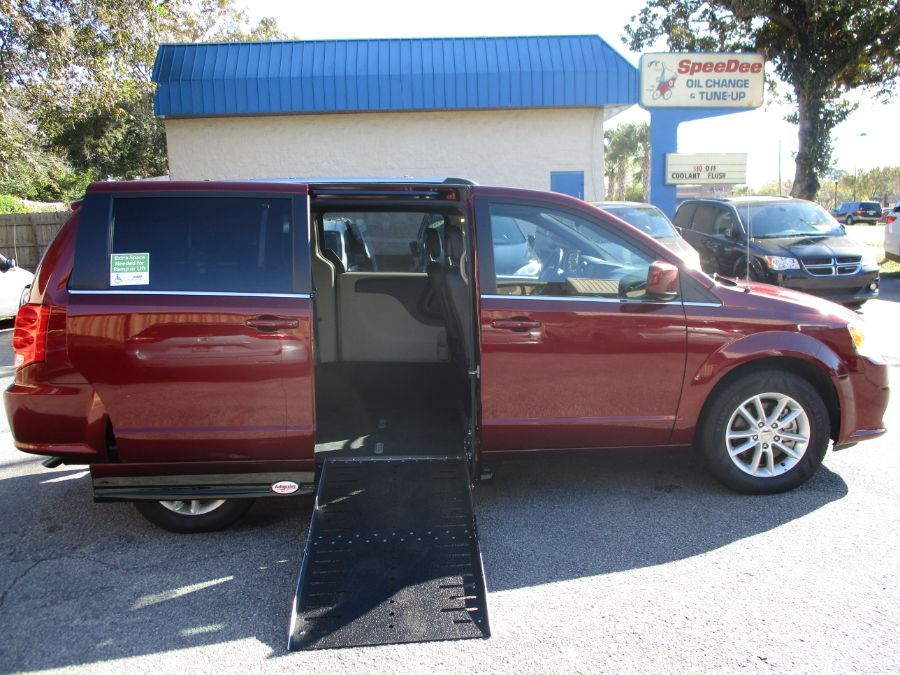 Red Dodge Grand Caravan image number 0