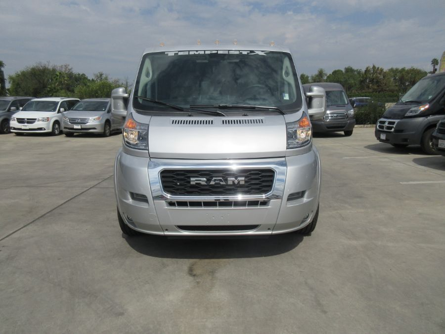 Silver Ram ProMaster Cargo with N/A N/A N/A ramp