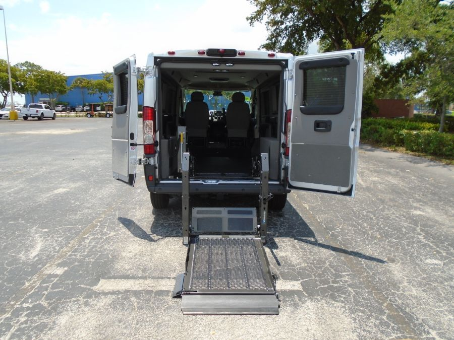 Gray Ram ProMaster Cargo with Rear Entry N/A N/A ramp