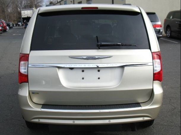 Gold Chrysler Town and Country image number 3