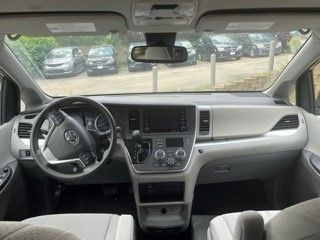 Gray Toyota Sienna with Side Entry Automatic In Floor ramp