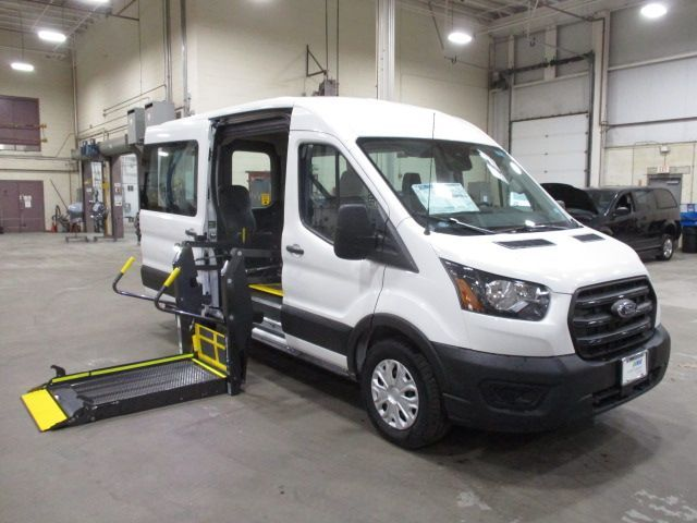 White Ford T150 with Side Entry Automatic Fold Out ramp