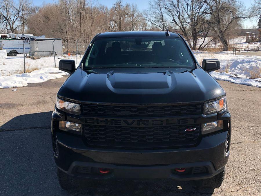 Black Chevrolet Silverado 1500 image number 1