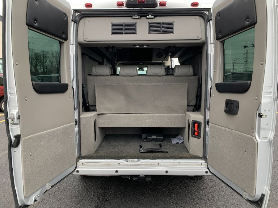 Silver Ram ProMaster Window with Side Entry N/A N/A ramp