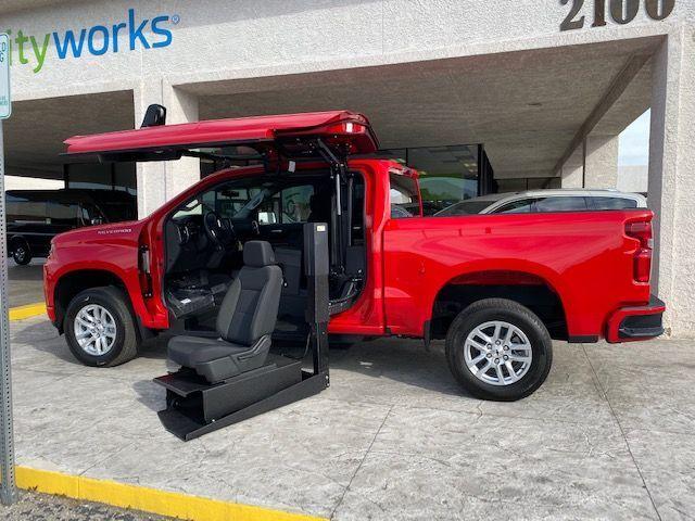 Red Chevrolet Silverado 1500 image number 3