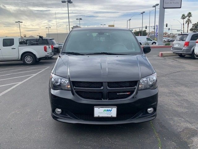 Black Dodge Grand Caravan image number 2