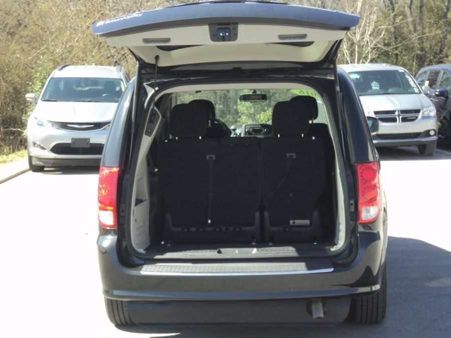 Black Dodge Grand Caravan image number 1