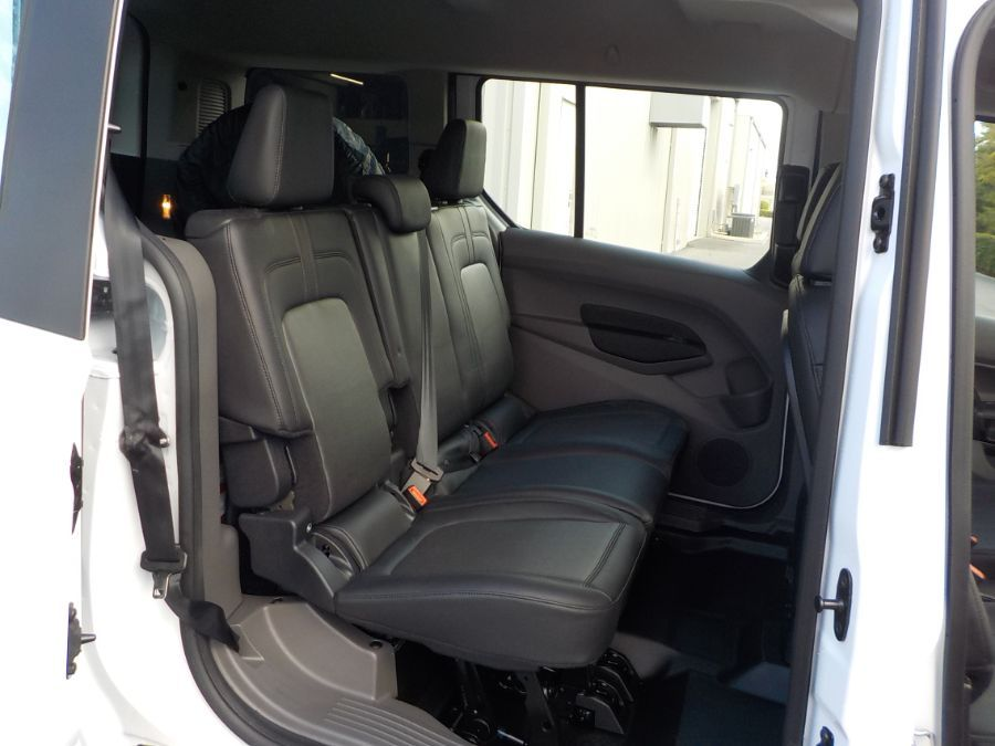 White Ford Transit Connect image number 14