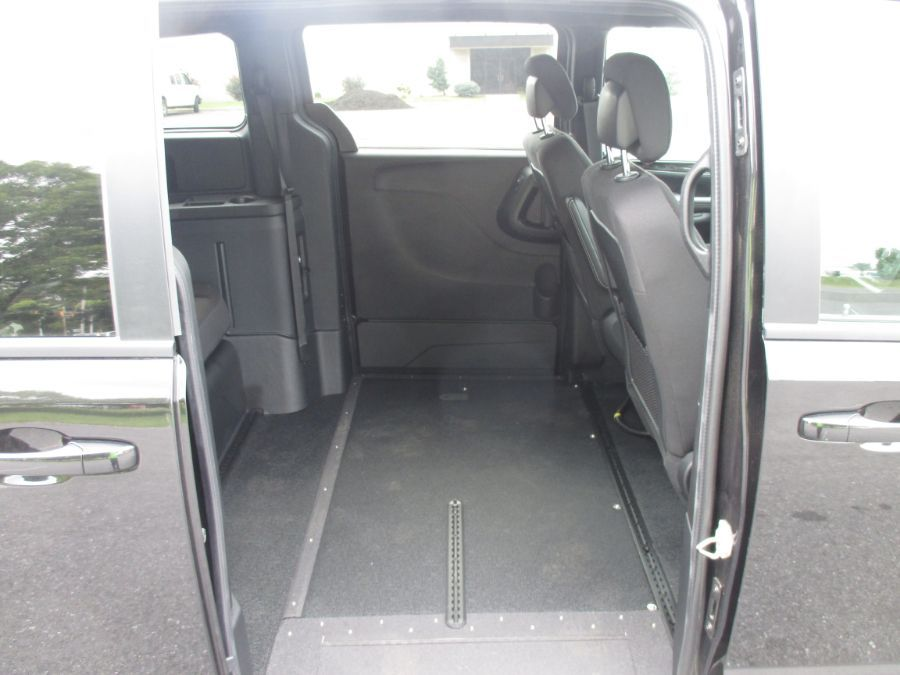 Black Dodge Grand Caravan image number 11