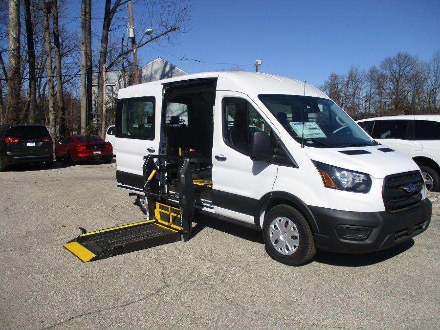 White Ford Transit Passenger image number 1