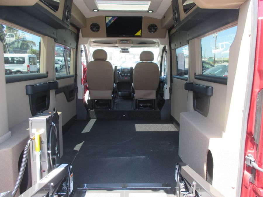 Red Ram ProMaster Cargo with Side Entry N/A N/A ramp