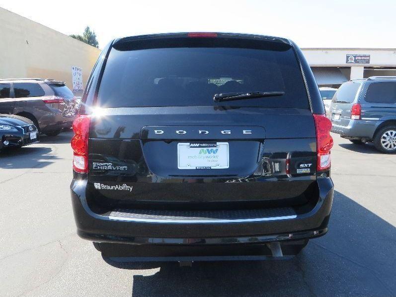 Black Dodge Grand Caravan image number 5