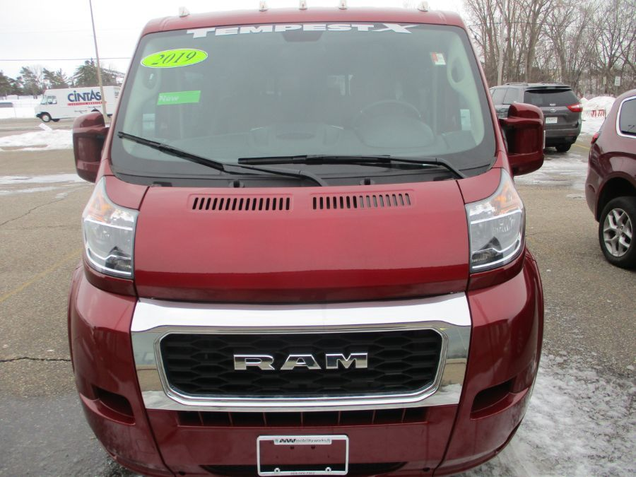 RED Ram ProMaster Cargo with N/A N/A N/A ramp