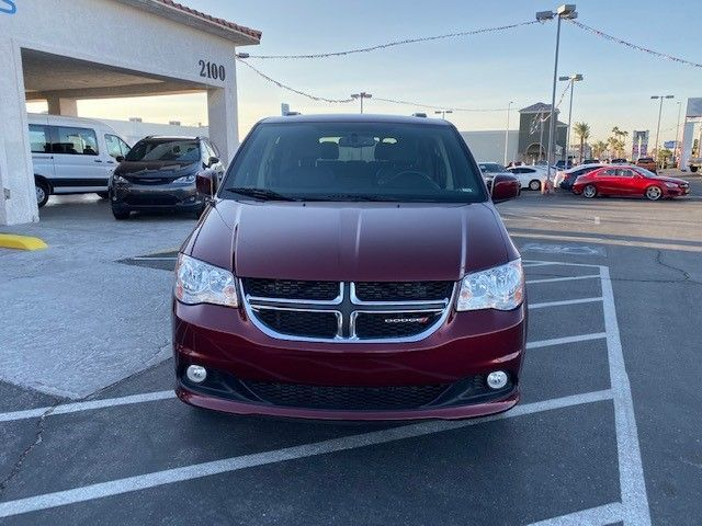 Red Dodge Grand Caravan image number 1