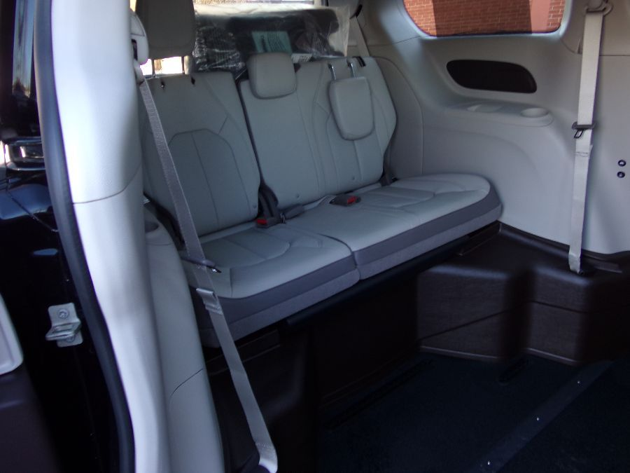 Brown Chrysler Pacifica with Side Entry Automatic In Floor ramp