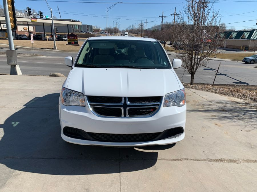 White Dodge Grand Caravan with Side Entry Automatic  ramp
