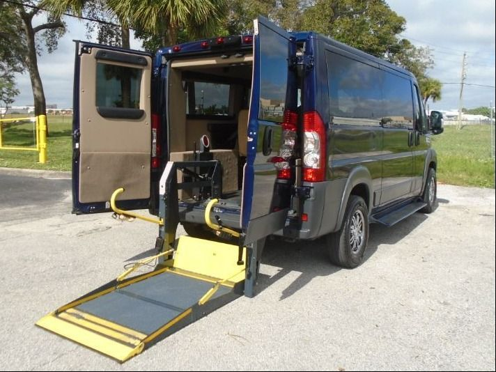 Blue Ram ProMaster Cargo with N/A N/A N/A ramp