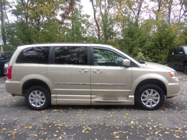 Gold Chrysler Town and Country image number 2