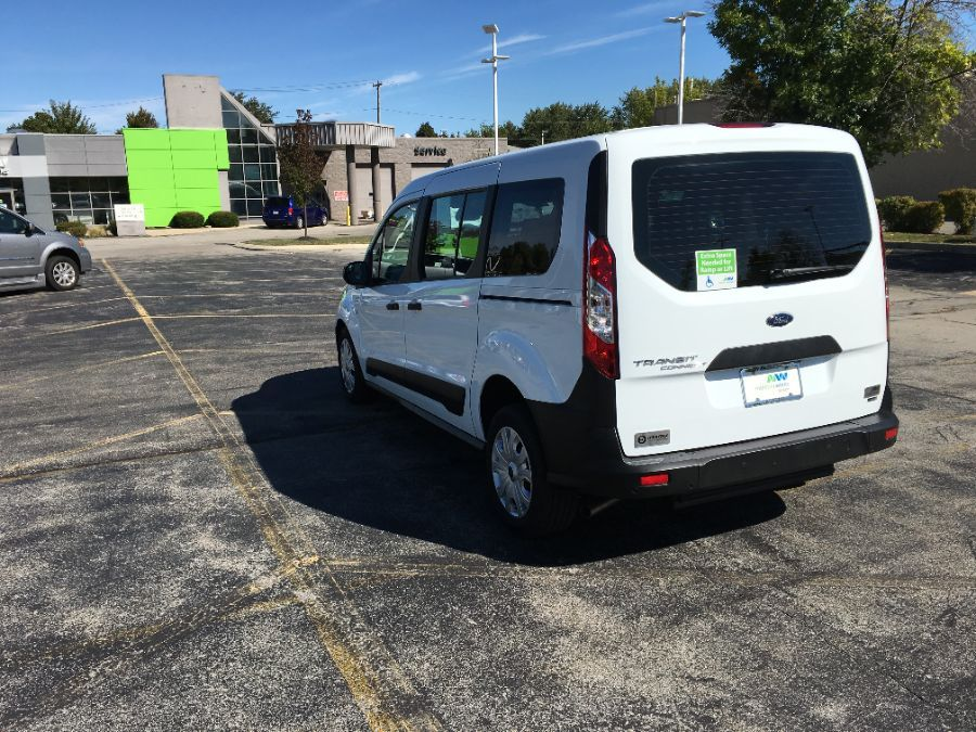 White Ford Transit Connect Wagon image number 11