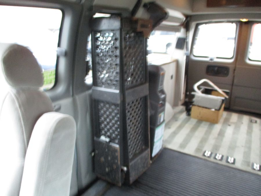 Silver Chevrolet Express Cargo image number 21