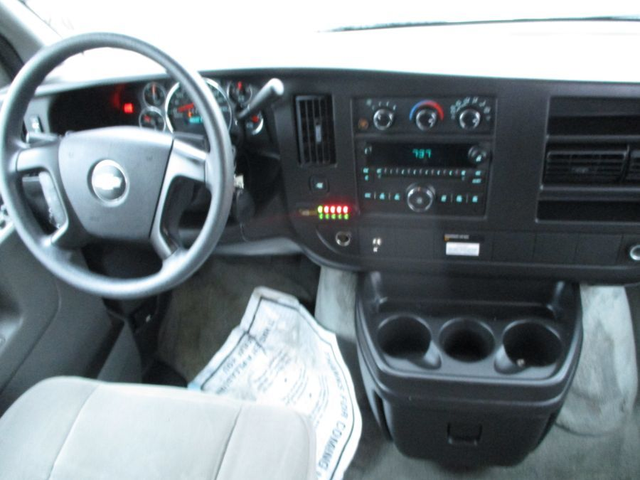 Silver Chevrolet Express Cargo image number 10