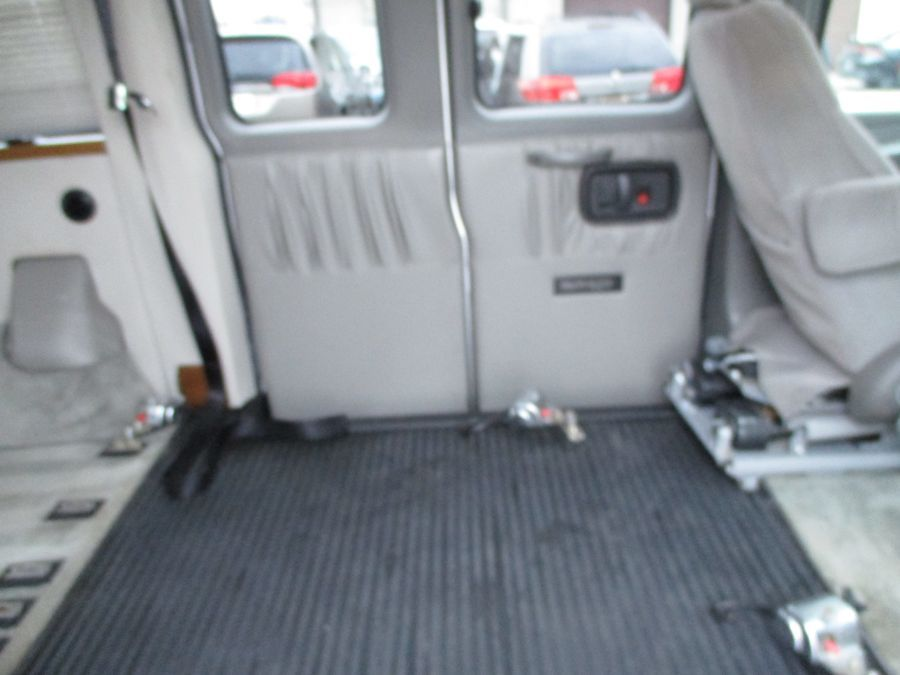 Silver Chevrolet Express Cargo image number 8