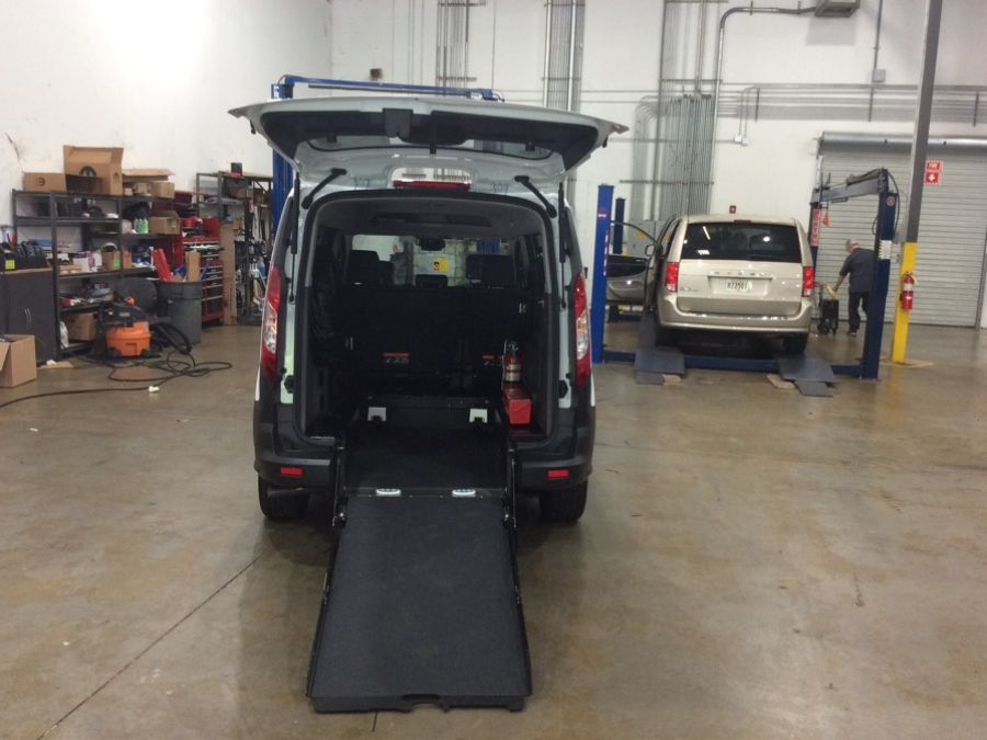 White Ford Transit Connect image number 5
