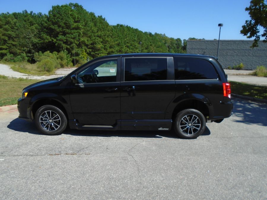 Black Dodge Grand Caravan image number 7