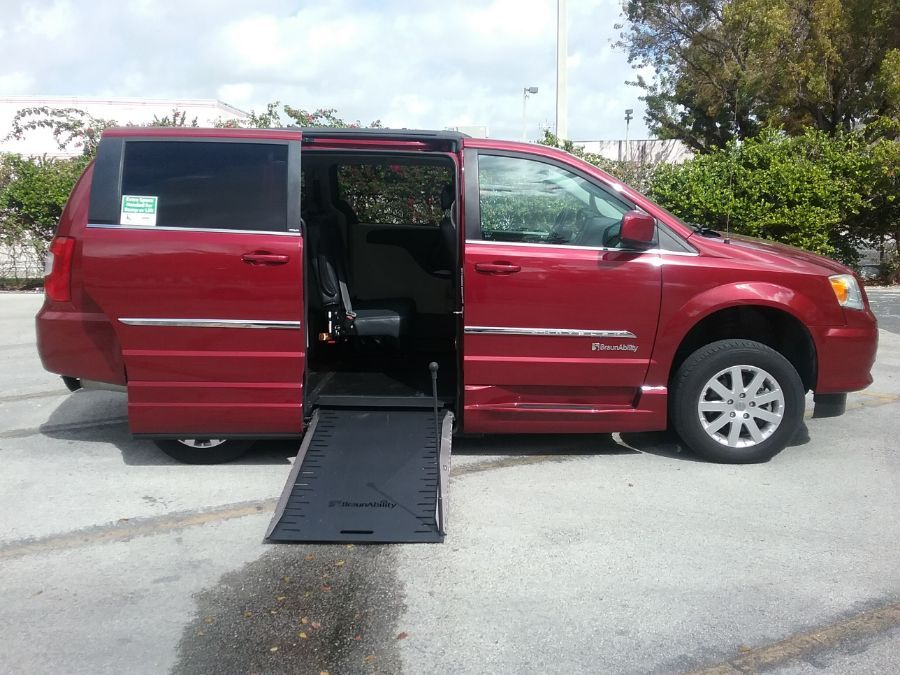 Red Chrysler Town and Country image number 7