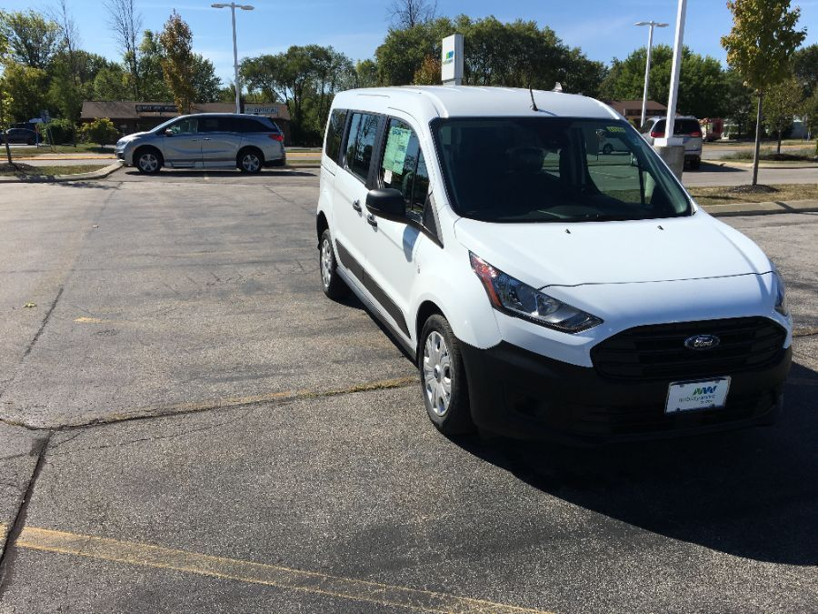 White Ford Transit Connect Wagon image number 8