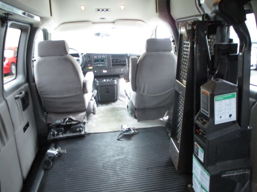 Silver Chevrolet Express Cargo image number 24