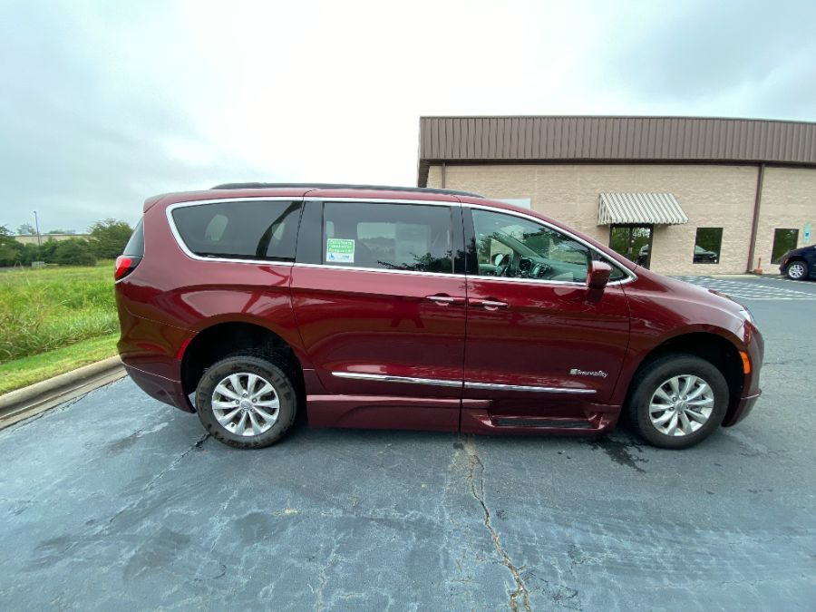 Red Chrysler Pacifica image number 2