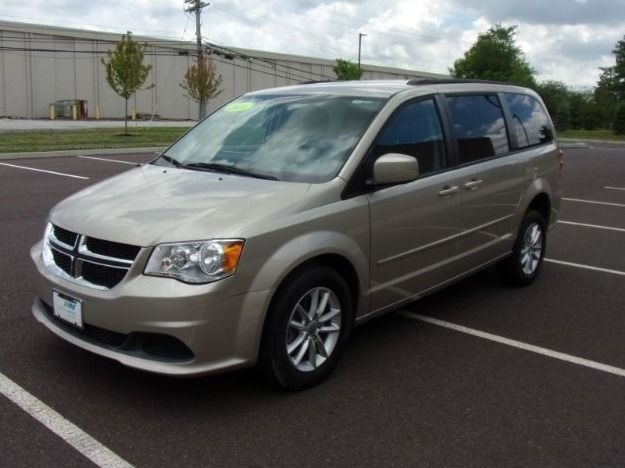 Dodge Grand Caravan with Rear Entry Manual Fold Out ramp