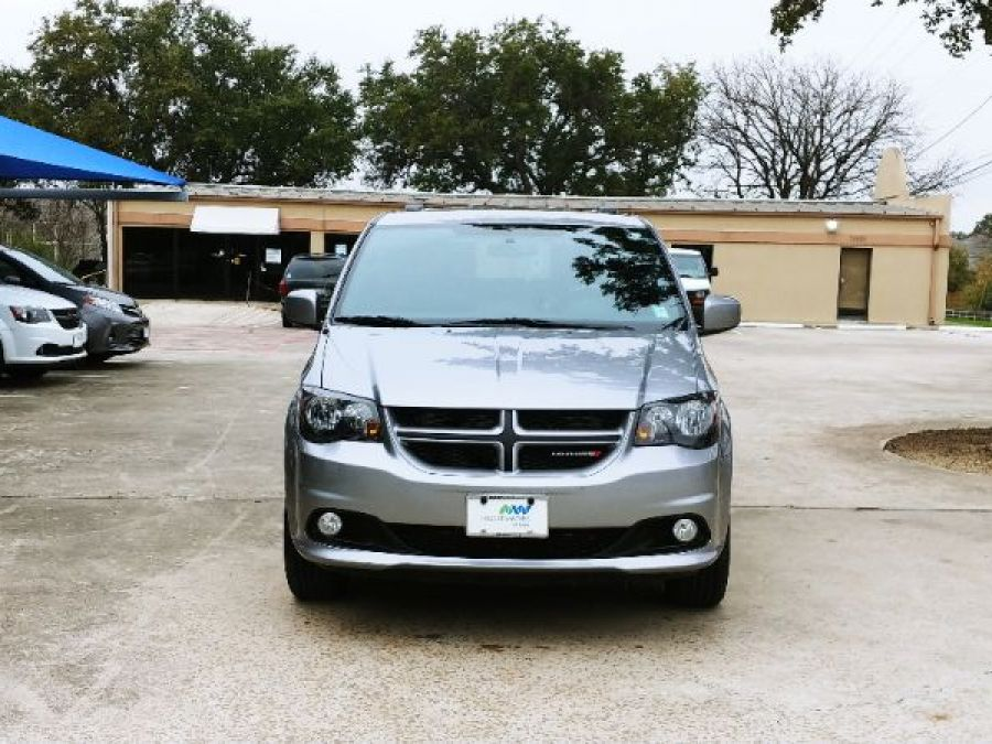 Silver Dodge Grand Caravan with Side Entry Manual In Floor ramp