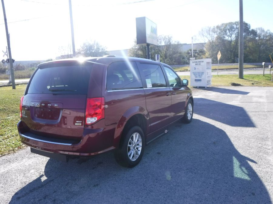 Red Dodge Grand Caravan image number 6